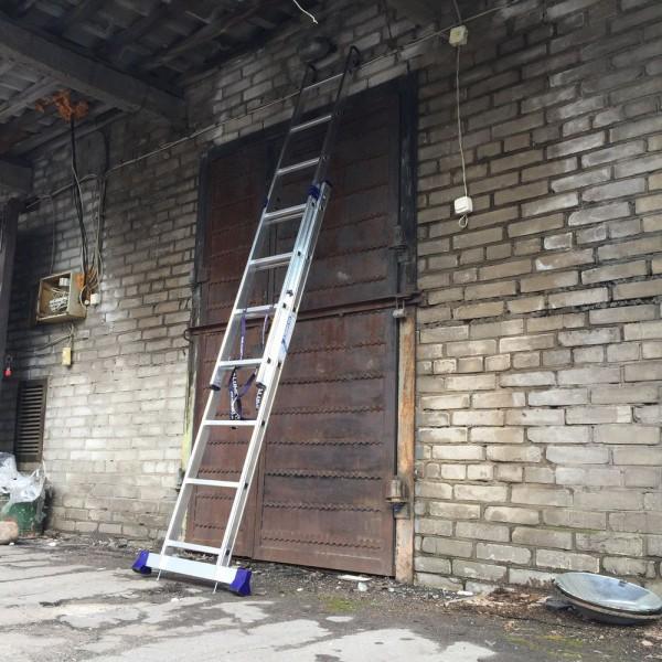 Алюминиевая двухсекционная лестница 5207 - 1