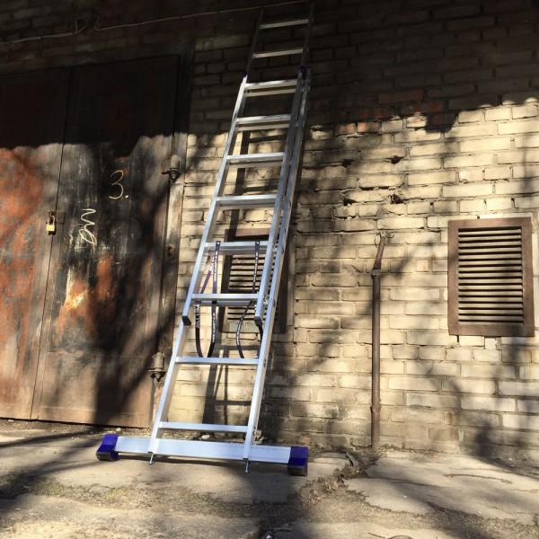 Алюминиевая двухсекционная лестница 5208 - 6