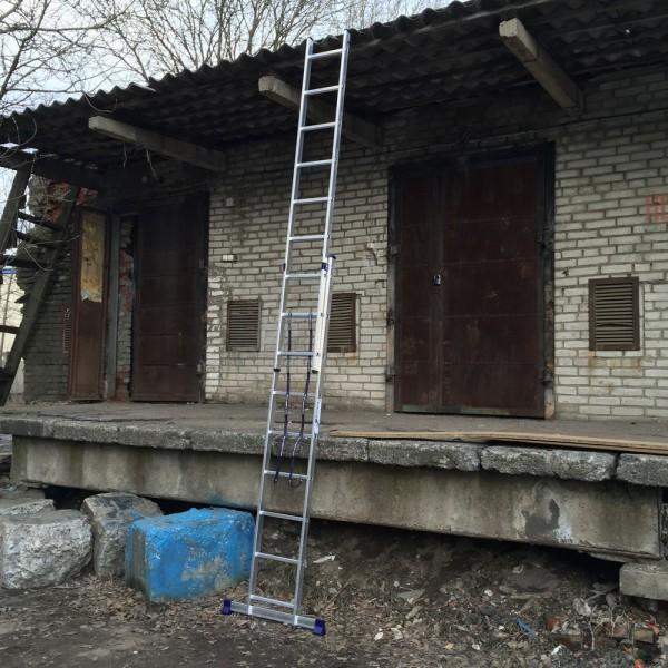 Алюминиевая двухсекционная лестница 5209 - 5