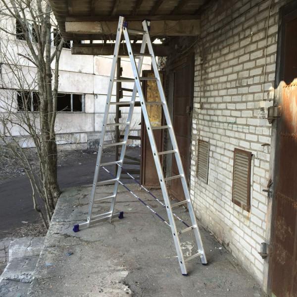 Алюминиевая двухсекционная лестница 5210 - 4