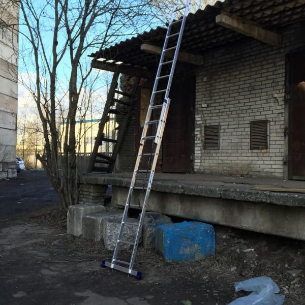 Алюминиевая двухсекционная лестница 5210 - 6