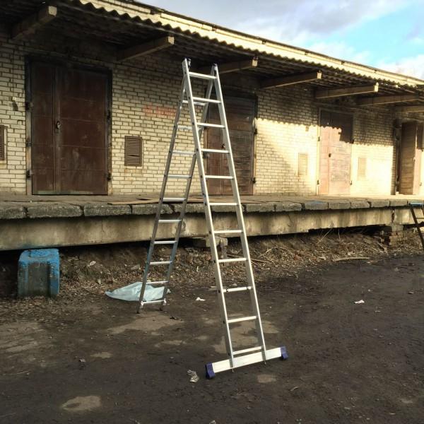 Алюминиевая двухсекционная лестница 5211 - 4