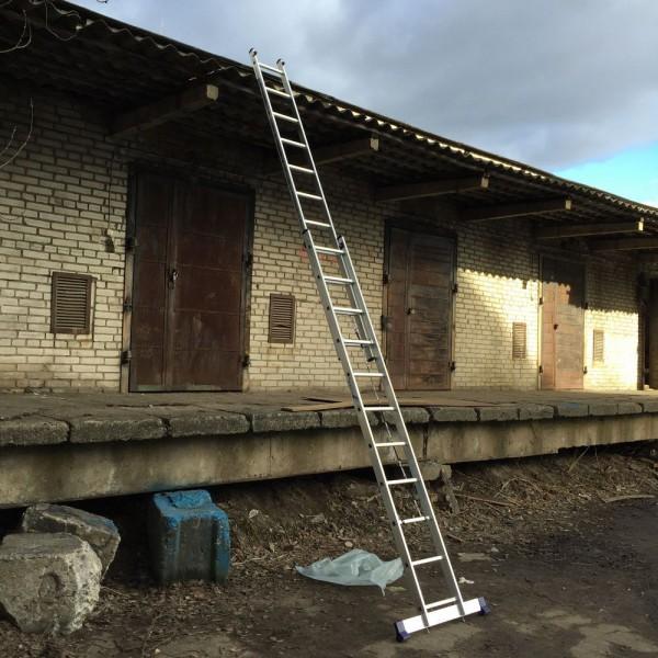 Алюминиевая двухсекционная лестница 5211 - 6
