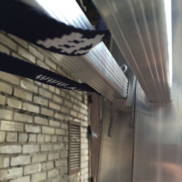 Алюминиевая трехсекционная лестница 5307 - 3