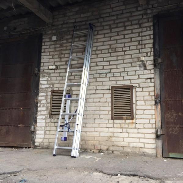 Алюминиевая трехсекционная лестница 5309 - 4