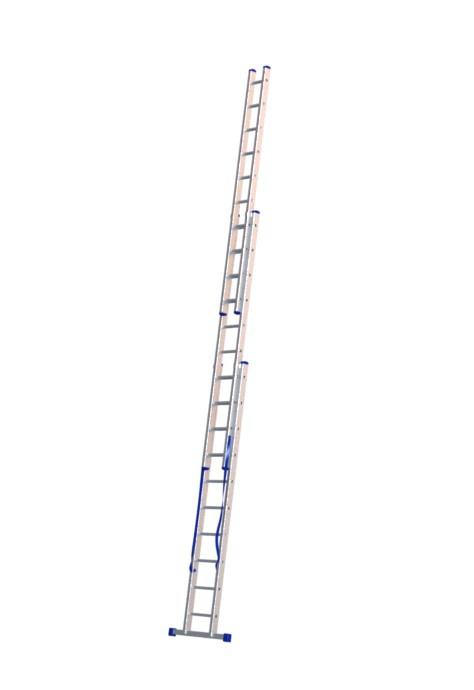 Алюминиевая трехсекционная лестница 5310 - 1