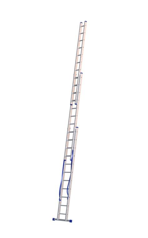 Алюминиевая трехсекционная лестница 5311 - 1