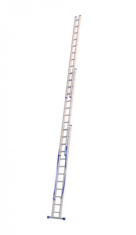 Алюминиевая трехсекционная лестница 5312 - 1