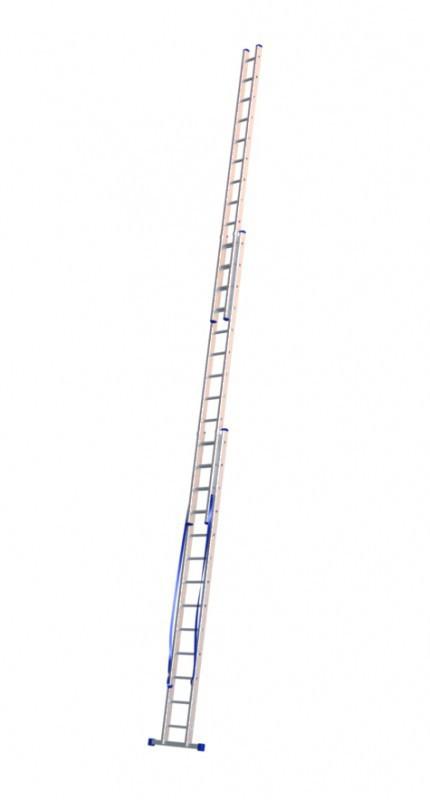Алюминиевая трехсекционная лестница 5313 - 1