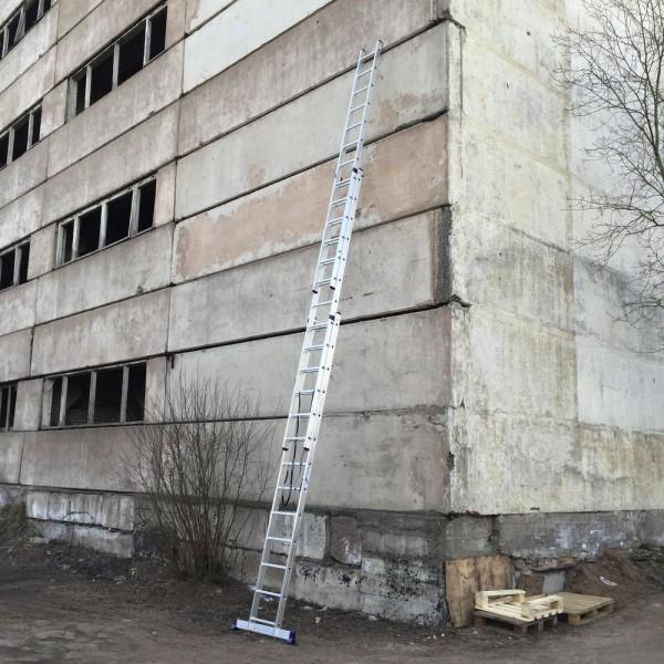 Алюминиевая трехсекционная лестница 5313 - 6