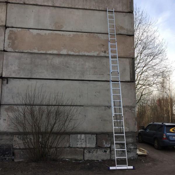 Алюминиевая трехсекционная лестница 5313 - 8