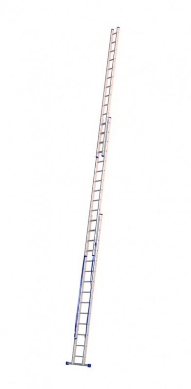 Алюминиевая трехсекционная лестница 5314 - 1