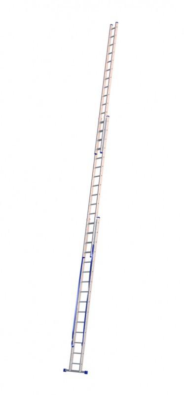 Алюминиевая трехсекционная лестница 6315 - 1
