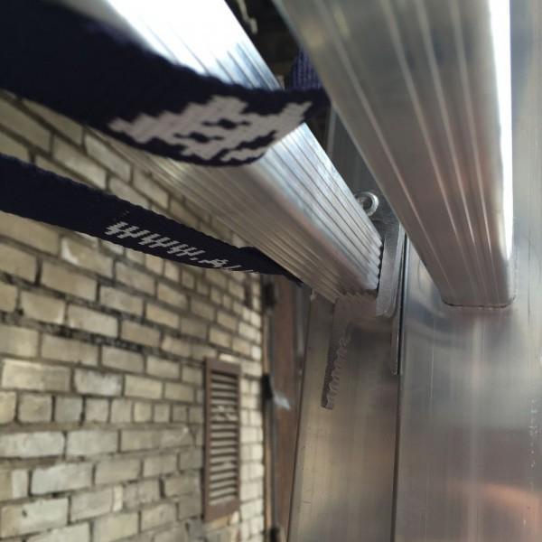 Алюминиевая трехсекционная лестница 6315 - 8