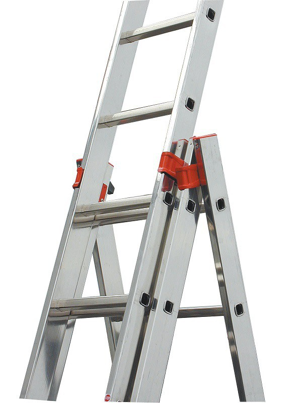 TRIBILO Универс. лестница из трёх частей, 3х12 - 1