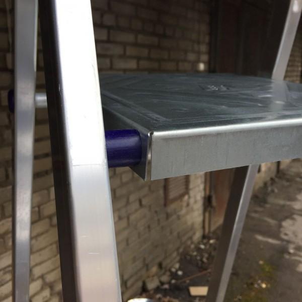 Лестница-стремянка алюминиевая матовая  8-и ст. Ам708 - 3