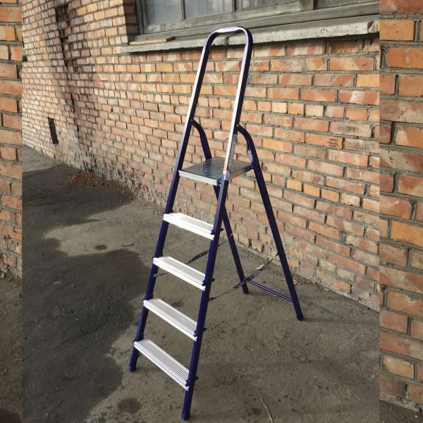 Лестница-стремянка 30*20 стальная 5-и ст.8305  - 5