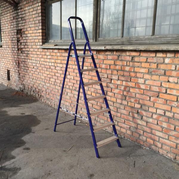 Лестница-стремянка 40*20 стальная  7-и ст.8407 - 1