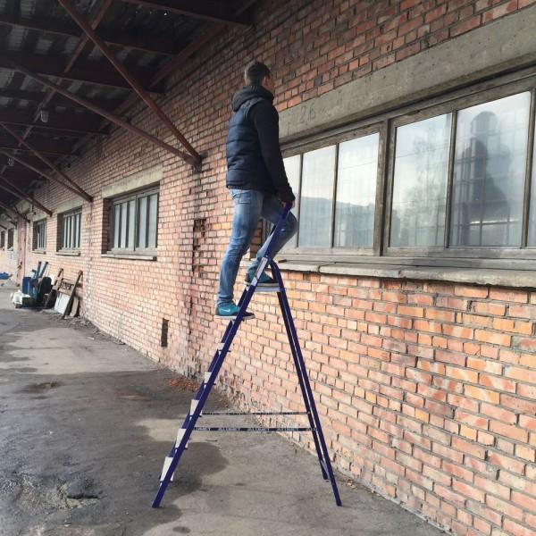 Лестница-стремянка 40*20 стальная  7-и ст.8407 - 2