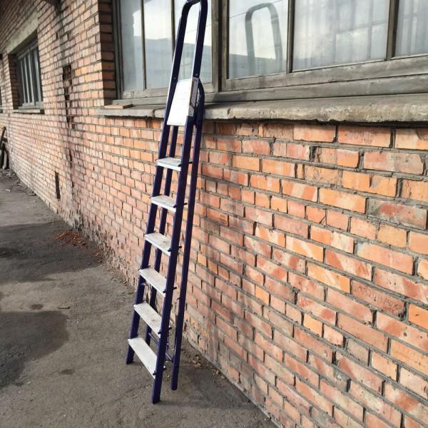 Лестница-стремянка 40*20 стальная  8-и ст.8408 - 1