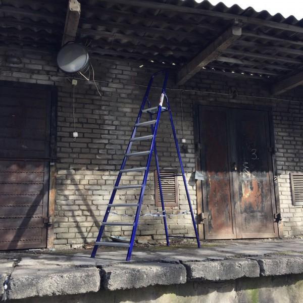 Лестница-стремянка 40*20 стальная  9-и ст.8409 - 2