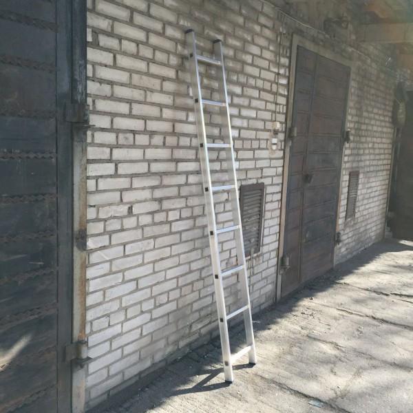 Алюминиевая односекционная лестница 5108 - 1