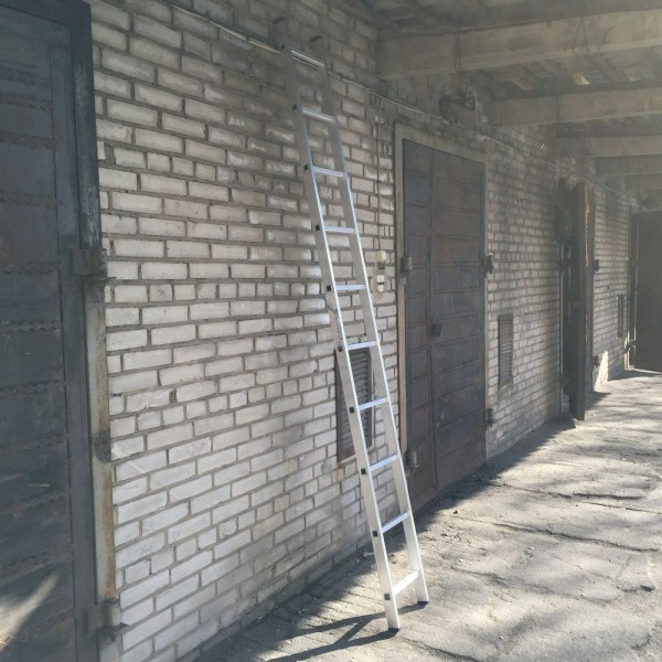 Алюминиевая односекционная лестница 5110 - 1