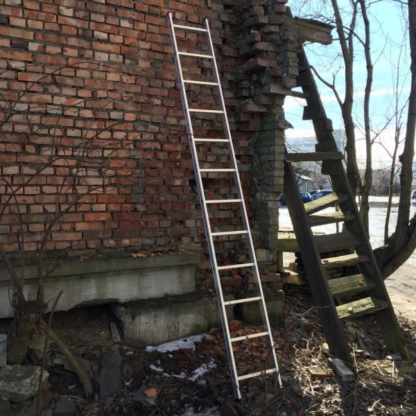Алюминиевая односекционная лестница 5112 - 1