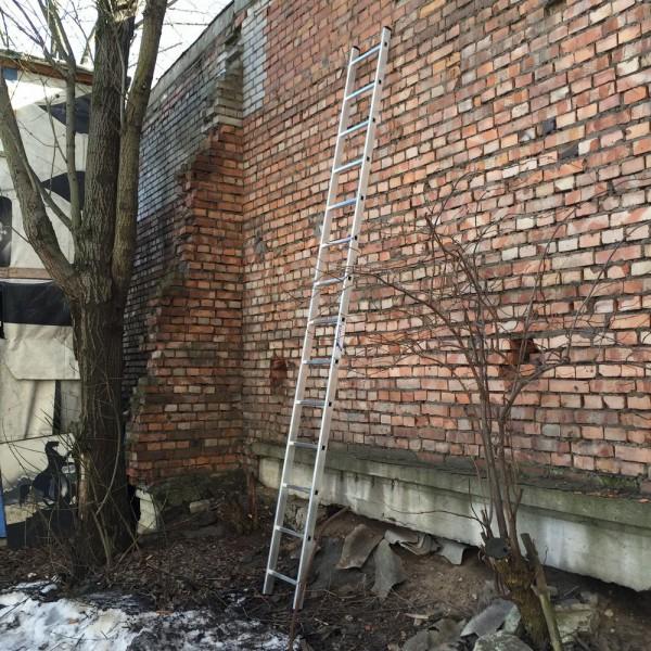Алюминиевая односекционная лестница 5114 - 1