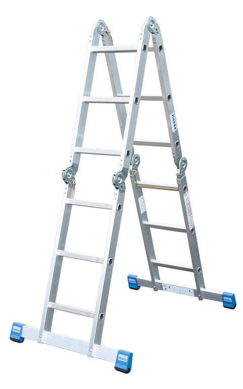 STABILO Шарнирная универсальная лестница-трансформер, 4 х 4 - 1