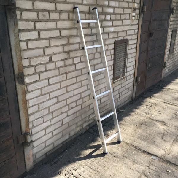Алюминиевая односекционная лестница 5106 - 1