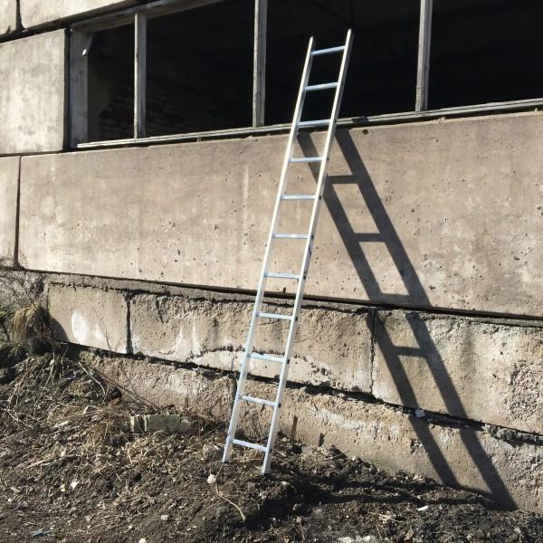 Алюминиевая односекционная лестница 5111 - 2