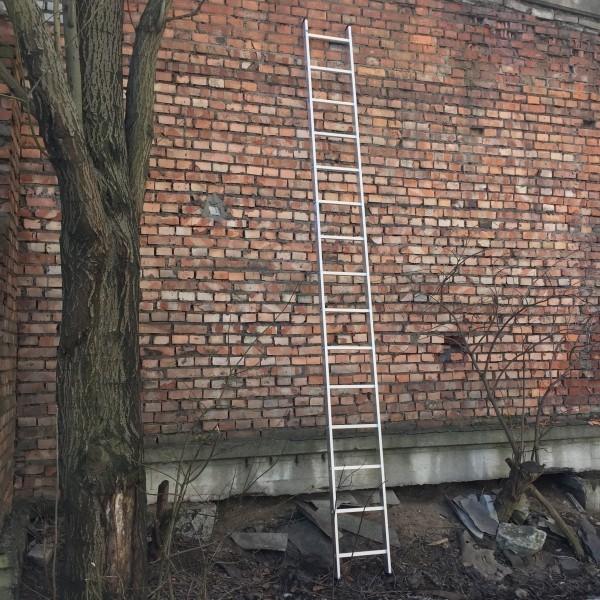 Алюминиевая односекционная лестница 5115 - 1