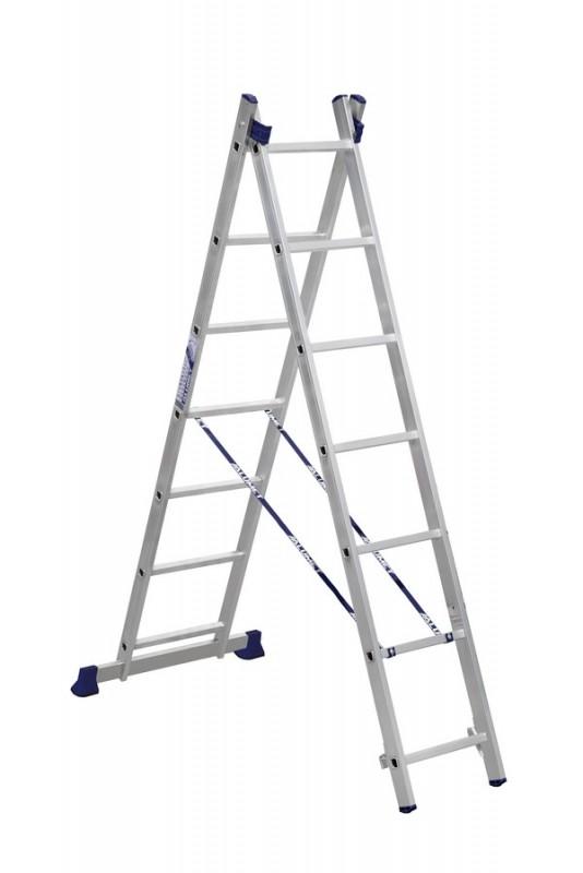Алюминиевая двухсекционная лестница 5207 - 201