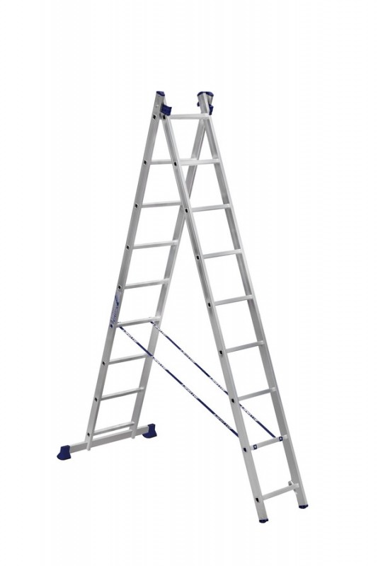 Алюминиевая двухсекционная лестница 5209 - 204