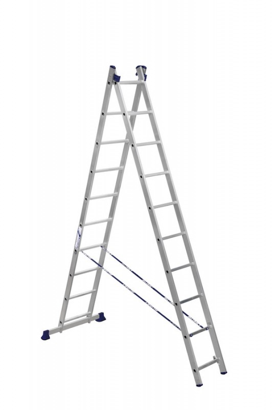 Алюминиевая двухсекционная лестница 5210 - 205