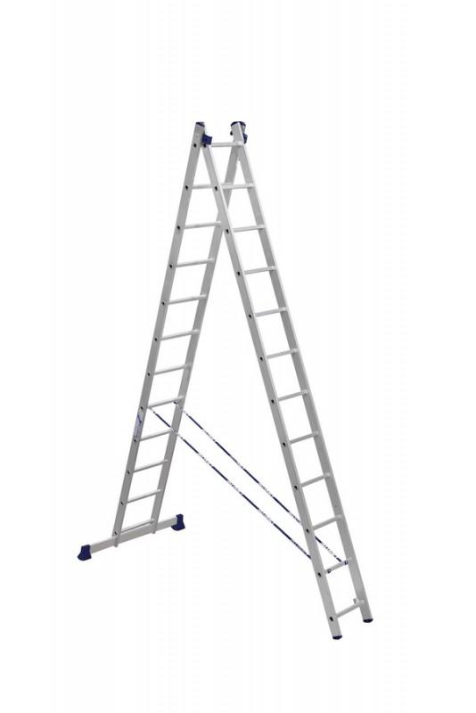 Алюминиевая двухсекционная лестница 5212 - 207