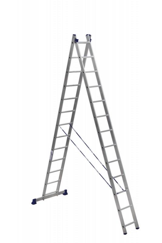 Алюминиевая двухсекционная лестница 5213 - 208