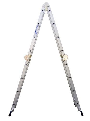 Лестница алюминиевая шарнирная (4*4)  Т444 - 251