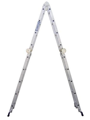 Лестница алюминиевая шарнирная (4*5)  Т455 - 252