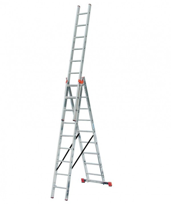 TRIBILO Универс. лестница из трёх частей, 3 х 9 - 284
