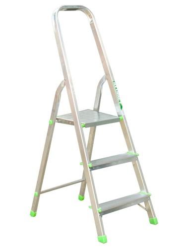 Лестница-стремянка алюминиевая матовая  3-х ст. Ам703 - 296