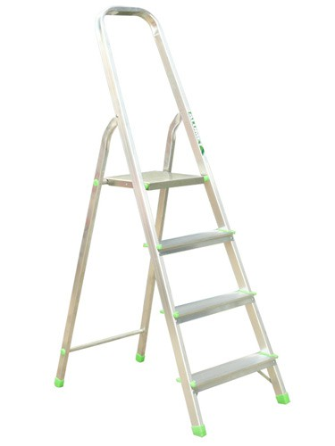 Лестница-стремянка алюминиевая матовая  4-х ст. Ам704 - 297