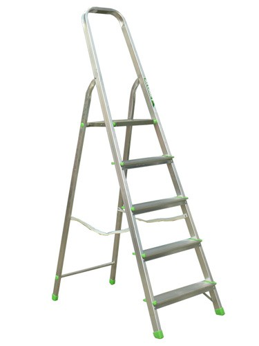Лестница-стремянка алюминиевая матовая  5-х ст. Ам705 - 298