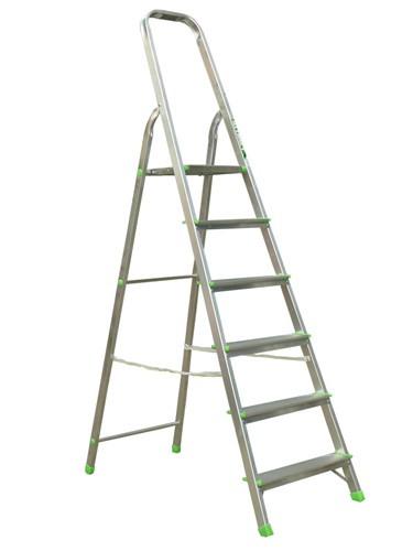 Лестница-стремянка алюминиевая матовая  6-и ст. Ам706 - 299