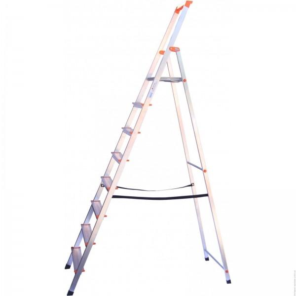 SOLIDY Свободностоящая стремянка, 8 ступеньки, раб. высота 3,71 м - 330
