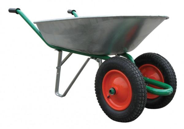 Тачка садово-строительная двухколёсная 85л - 699