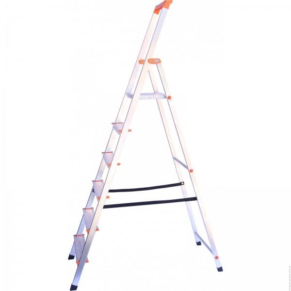 SOLIDY Свободностоящая стремянка, 6 ступеньки, раб. высота 3,27 м - 711
