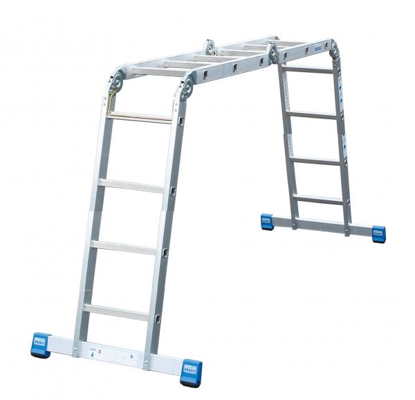 STABILO Шарнирная универсальная лестница-трансформер, 4 х 4 - 721