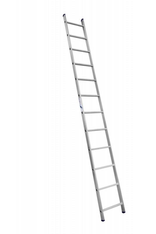 Алюминиевая односекционная  приставная лестница 6112 - 731